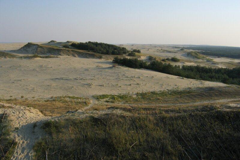 Вид на дюну Старосельская