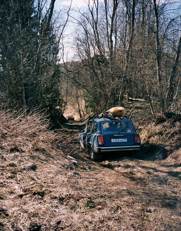 Проезд к реке Серёжа, Тверская область