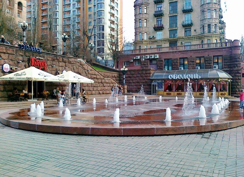 киев фонтан крещатик