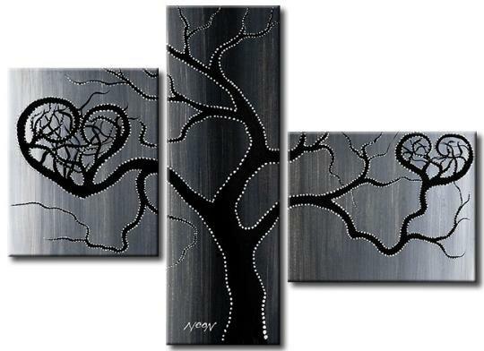 Автор.  Другие работы этого жанра.  2008. Год создания.  135. Картина древо любви.  Галерея Живопись.