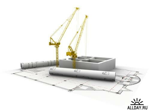 Construction - UHQ Stock Photo Строительство.