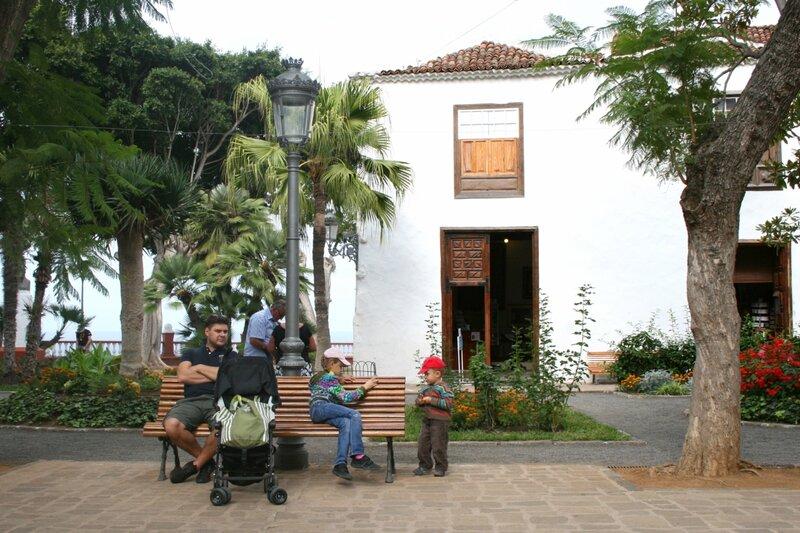 Парк Драго в Икод де лос Винос, Тенерифе