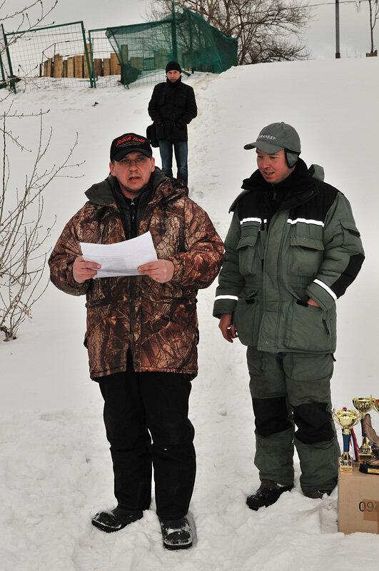 Главный Судья соревнований Ланчиков А. и организатор Марков С.