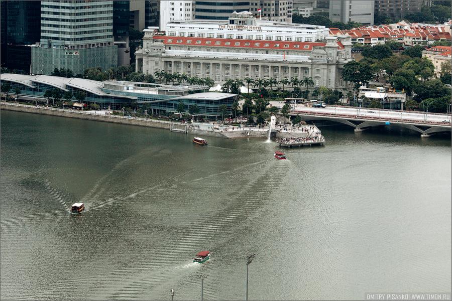 колесо обозрения Singapore Flyer (Парящий Сингапур)