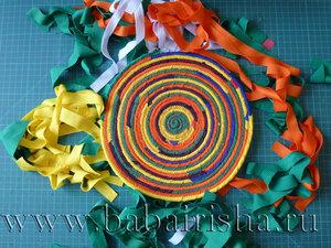 разноцветные лоскутки
