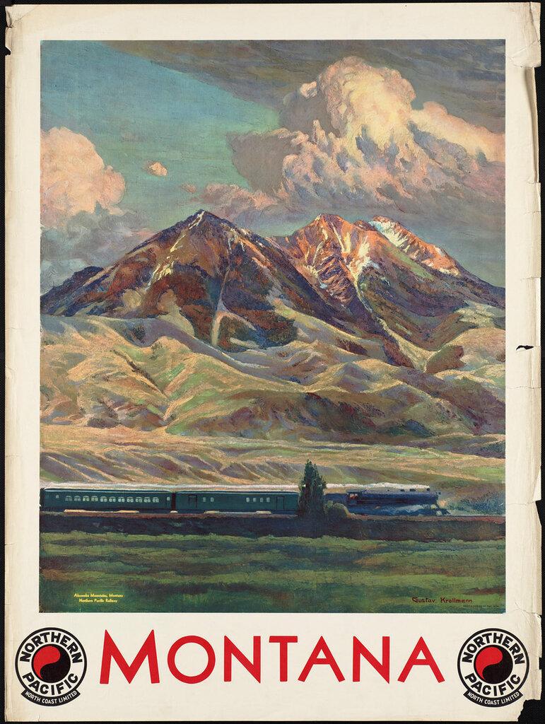 Travel posters by Krollmann, Gustav Wilhelm 1910-59