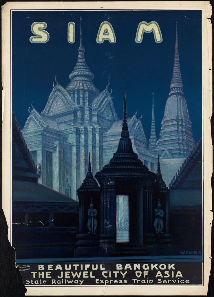 Beautiful Bangkok, the Jewel city of Asia 1910-1959
