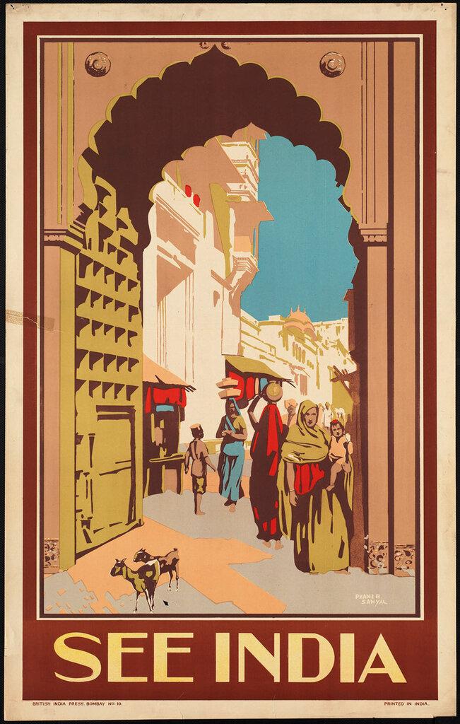 Bombay India 1910-1959