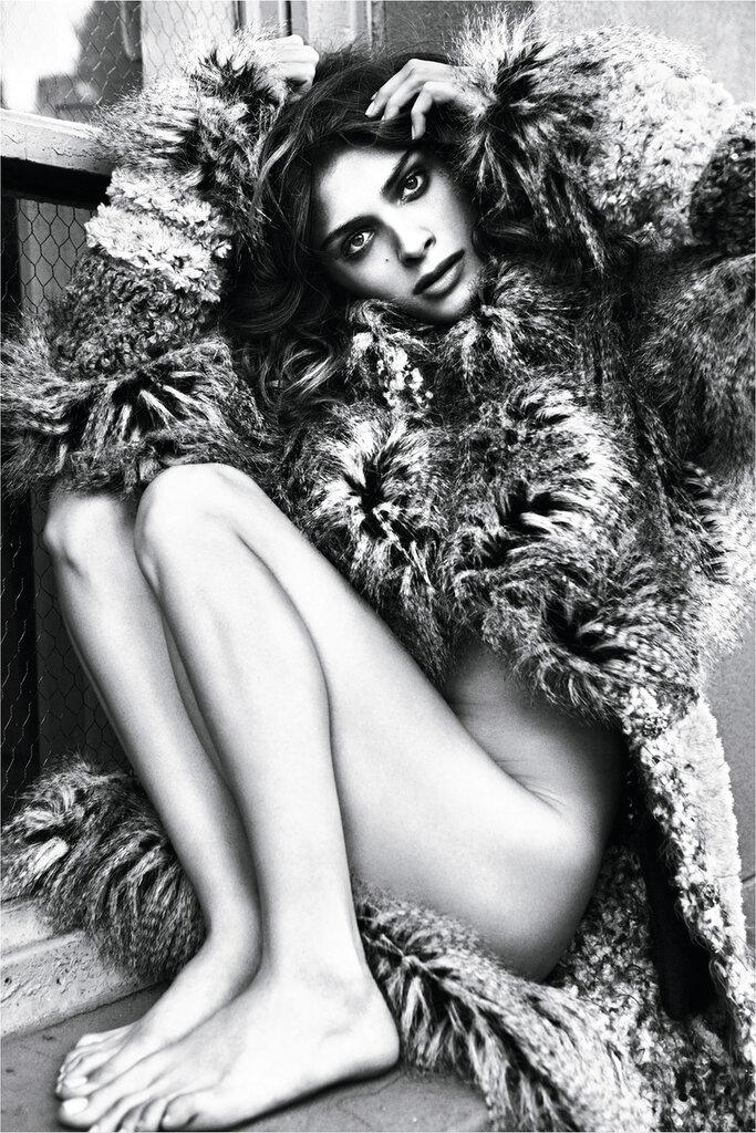 Elisa Sednaoui photographed by Mario Sorrenti