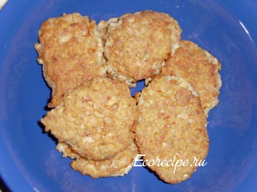 Вкусные котлеты из куриного фарша