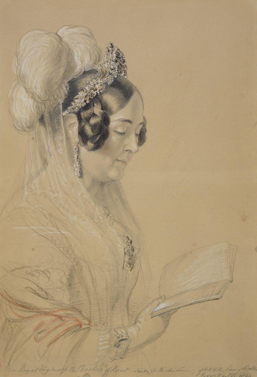 Виктория, герцогиня Кента. 1844.