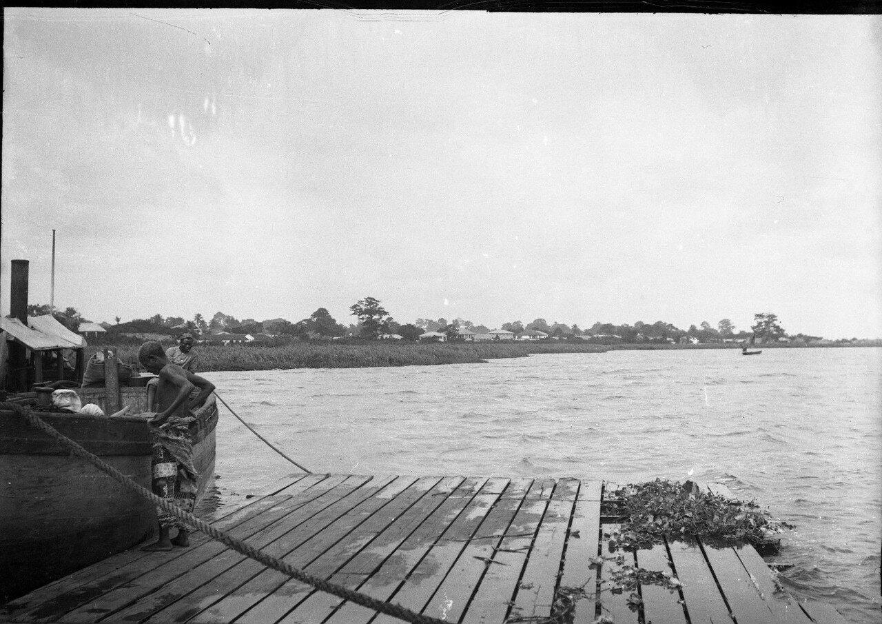 Порто-Ново. Вид на город с юго-запада