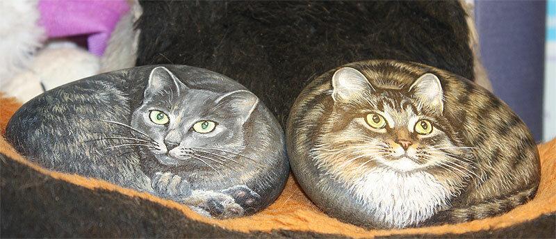 Портреты Тинки и Дуси