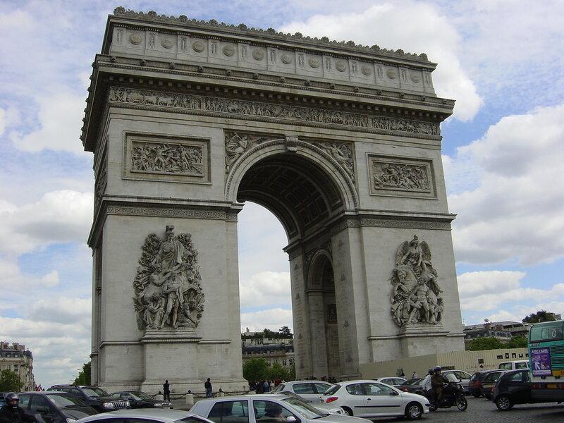Франция, Париж, Триумфальная арка