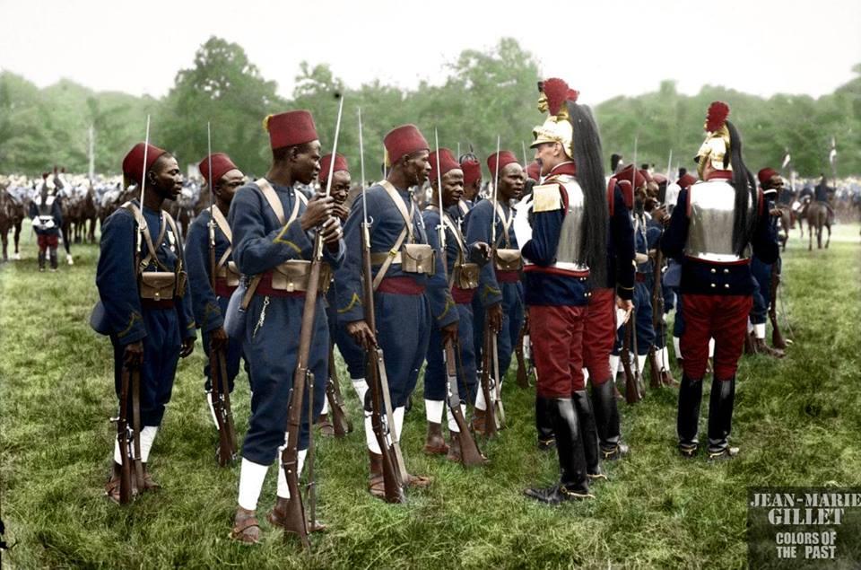 Колониальные войска Антанты. Первая мировая (14 фото)