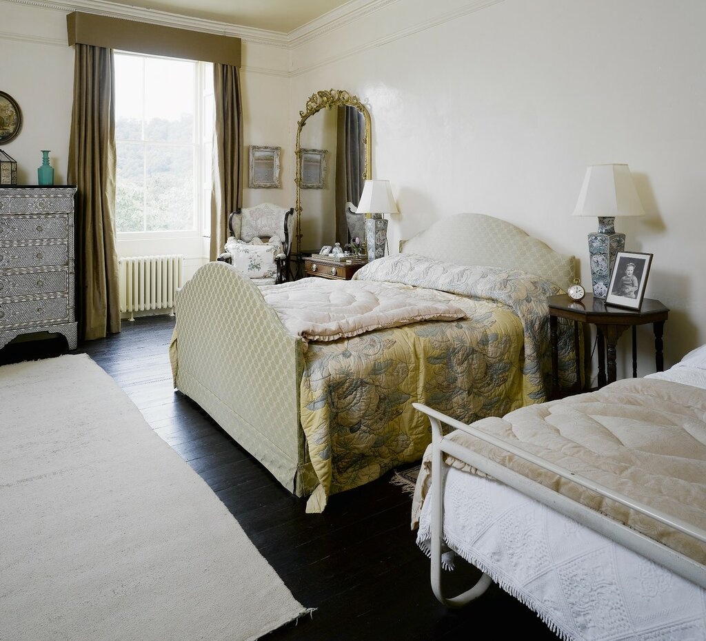 Agatha Christie's Bedroom at Greenway, Devon