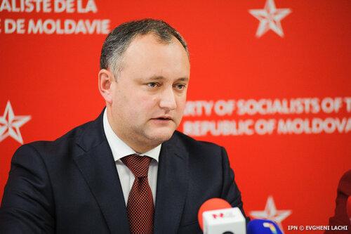 Додон: под лозунгом евроинтеграции Молдова была разрушена