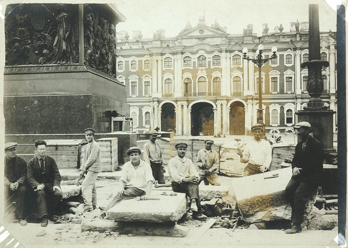 1932 Архив фотографий реконструкции Дворцовой площади (пл. Урицкого)3.jpg