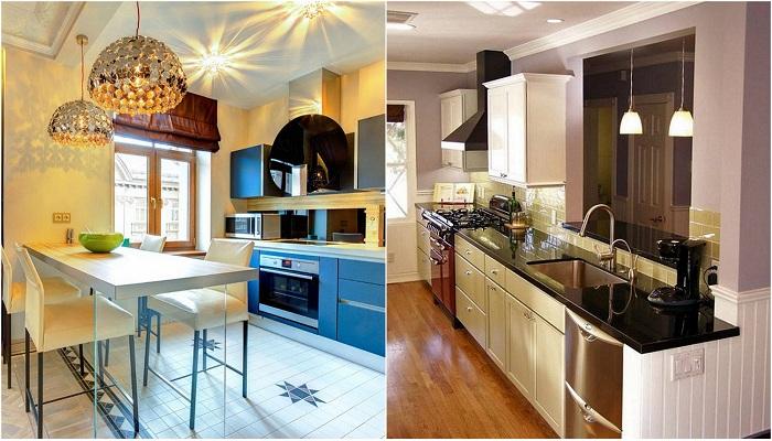 Интерьеры современных кухонь