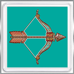 Магнит сувенирный Знак Зодиака Стрелец