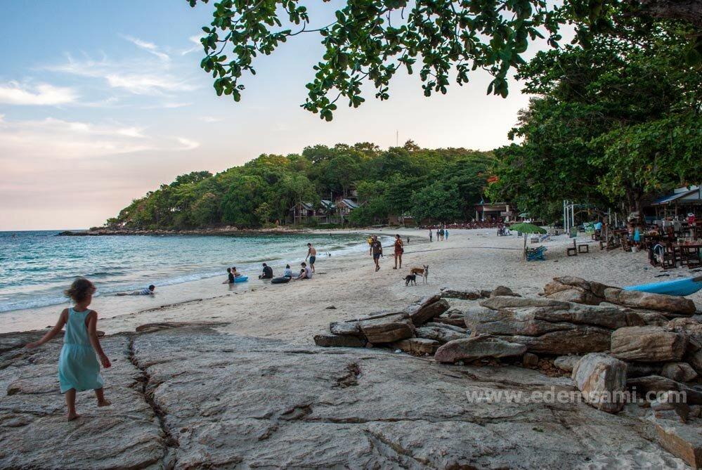 остров Самет пляж Ао Тубтим и Ао Путса
