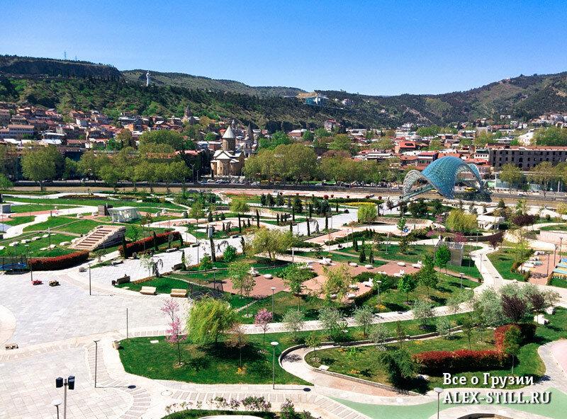 Парк Рике построен на месте пустыря
