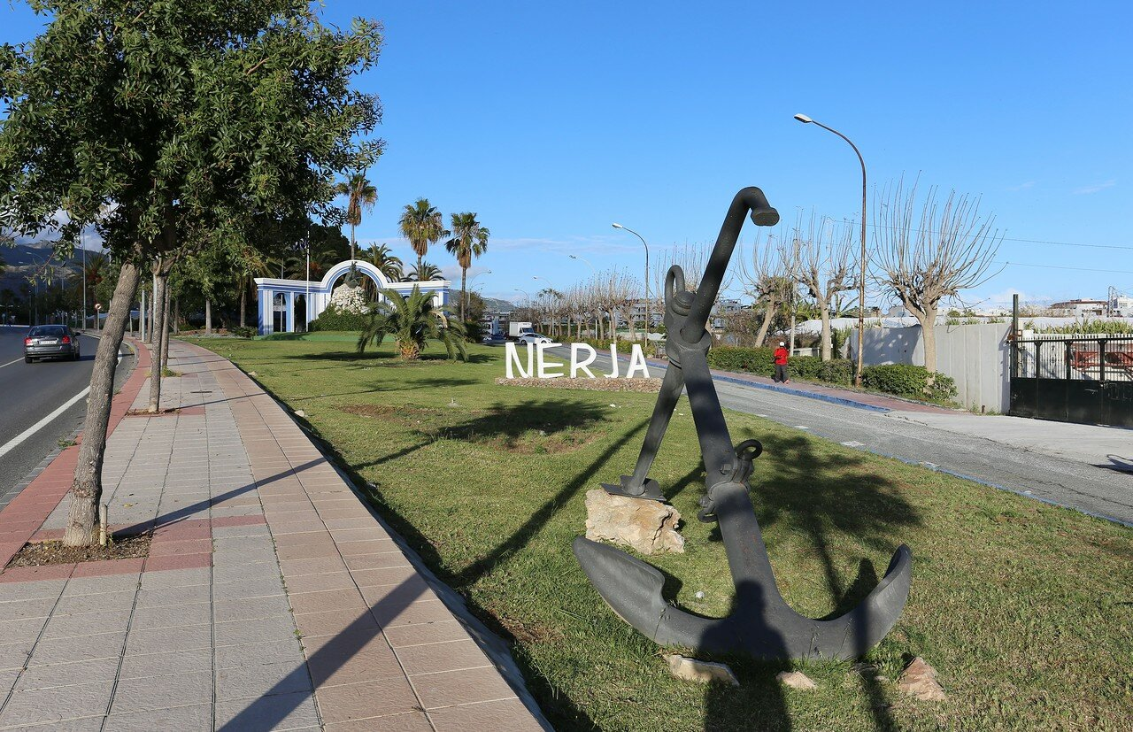 Нерха. Монумент Похищение Европы (Rapto de Europa)