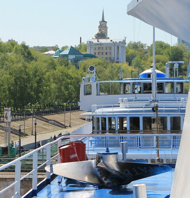 Пермь. Речной вокзал