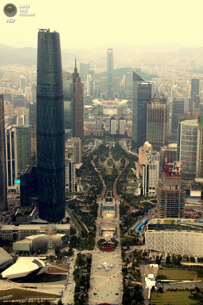 6. Международный финансовый центр, Гуанчжоу. Высота: 440 м. Введение в эксплуатацию: 2010 год. (
