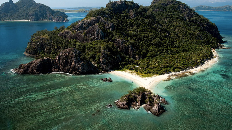 Группа островов Маманука считается одной из самых популярных туристических зон Фиджи. Архипелаг сост