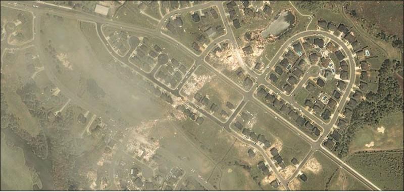 Природные катаклизмы со спутника GeoEye (22 фото)