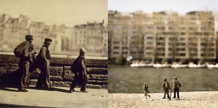 Слева — «Портрет Сары Бернар», Жорж Клерен, справа — @miss_etc.