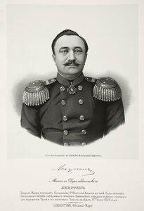 Михаил Дормедонтович Лихутин, генерал-майор, помощник начальника 9-ой пехотной дивизии