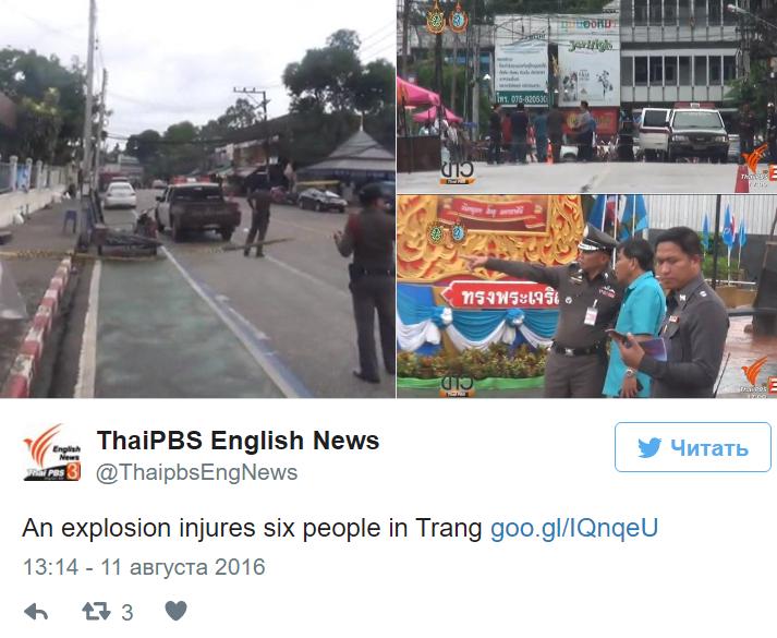 При взрывах натайском курорте пострадали неменее 20 человек