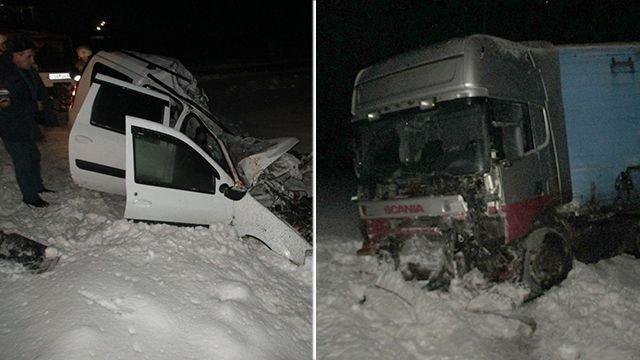 ДТП вСамарской области— погибли три человека, втом числе грудной ребенок