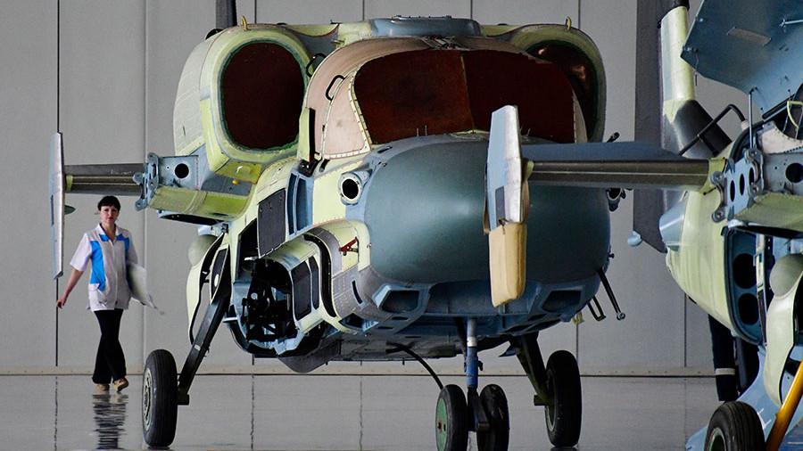МинобороныРФ подразумевает закупку вертолётов Ми-38 уКВЗ