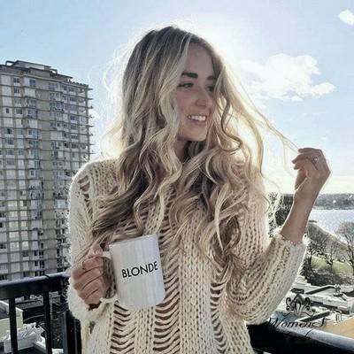 Для удаления желтизны с волос оттенка блонд