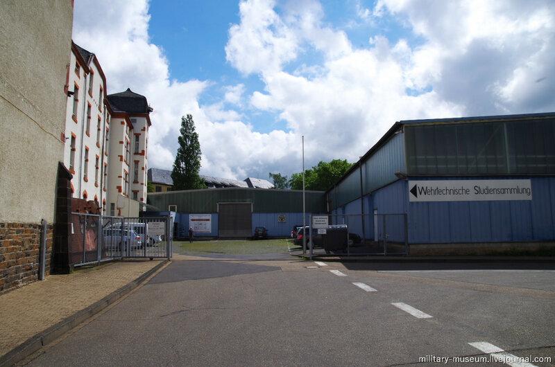 Фотографии из Военного музея в Кобленце