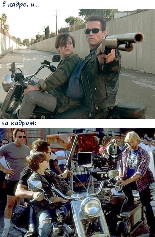 За кадром известных фильмов
