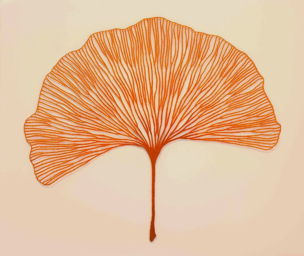 Meredith Woolnough's Embroideries Mimic Delicate Forms of Nature