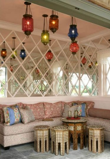 Интерьер в марокканской манере