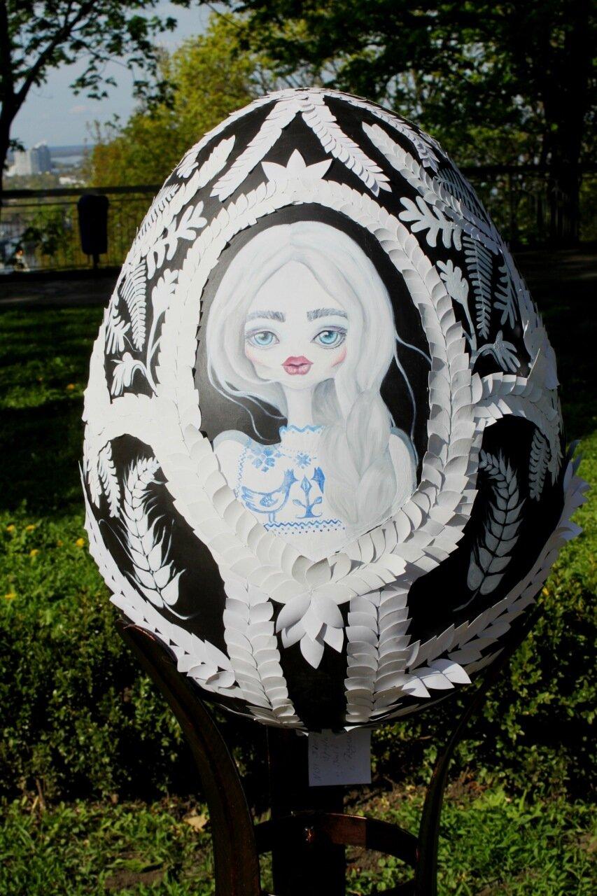 Портрет на яйце