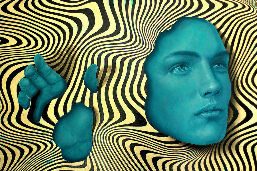 Psychedelic Portraits by Johnie Thornton (8 pics)