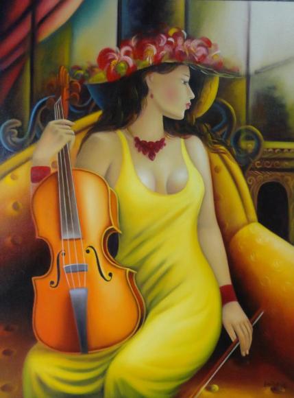 Женщина-музыка, женщина, как скрипка... Серхио Мартинес-Sergio Martinez