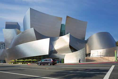 Лос-Анджелес. Концертный зал им. Уолта Диснея.