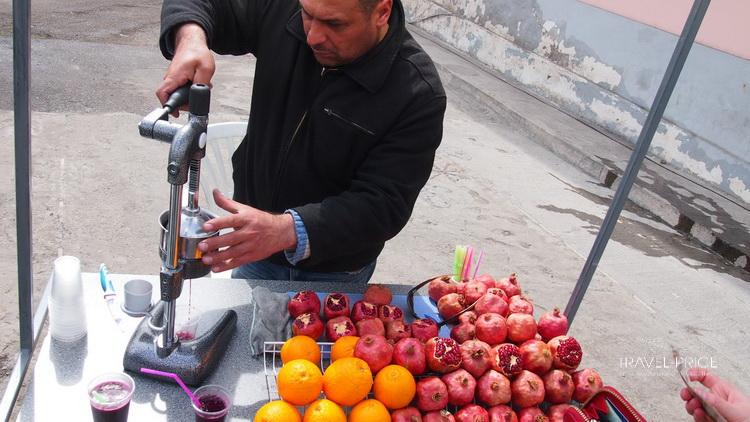 Уличная еда в Тбилиси