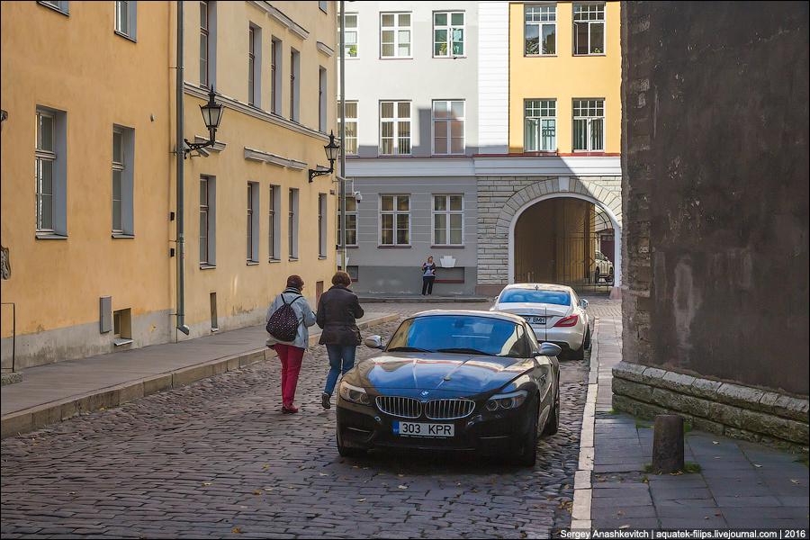 Нищета в Таллине