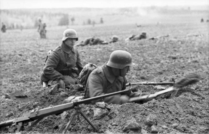 Russland-Nord, Infanterie, Schьtzenlцcher