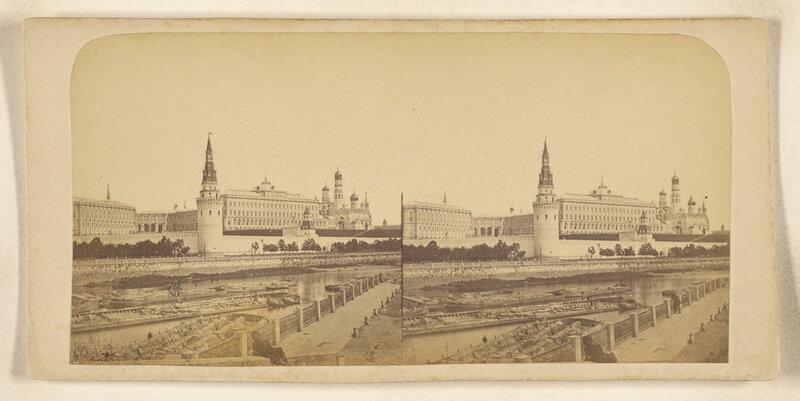 Стереофотографии старой Москвы