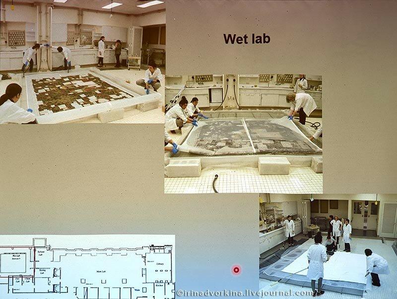 Реставрация тканей в Метрополитен-музее-13